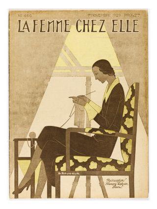 Woman-knitting-1929