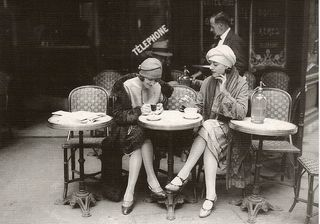 22. paris cafe 1920's