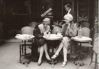22. paris cafe 1920's